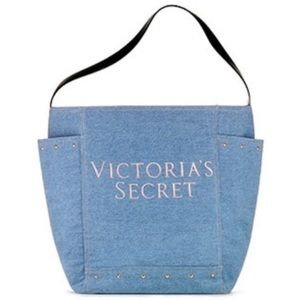 Victoria Secret's Blue Jean Tote